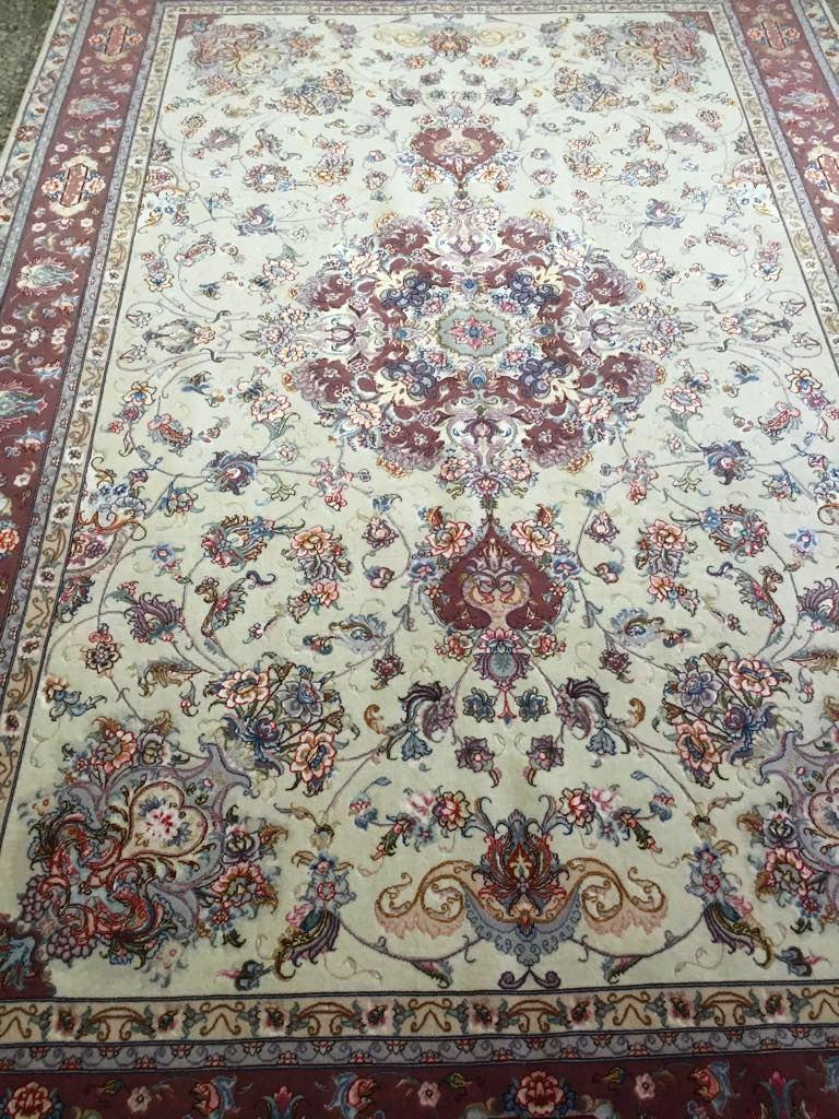 persian tabriz rug10 1 x 6 6 ft 310 x 202 cm rugs place. Black Bedroom Furniture Sets. Home Design Ideas