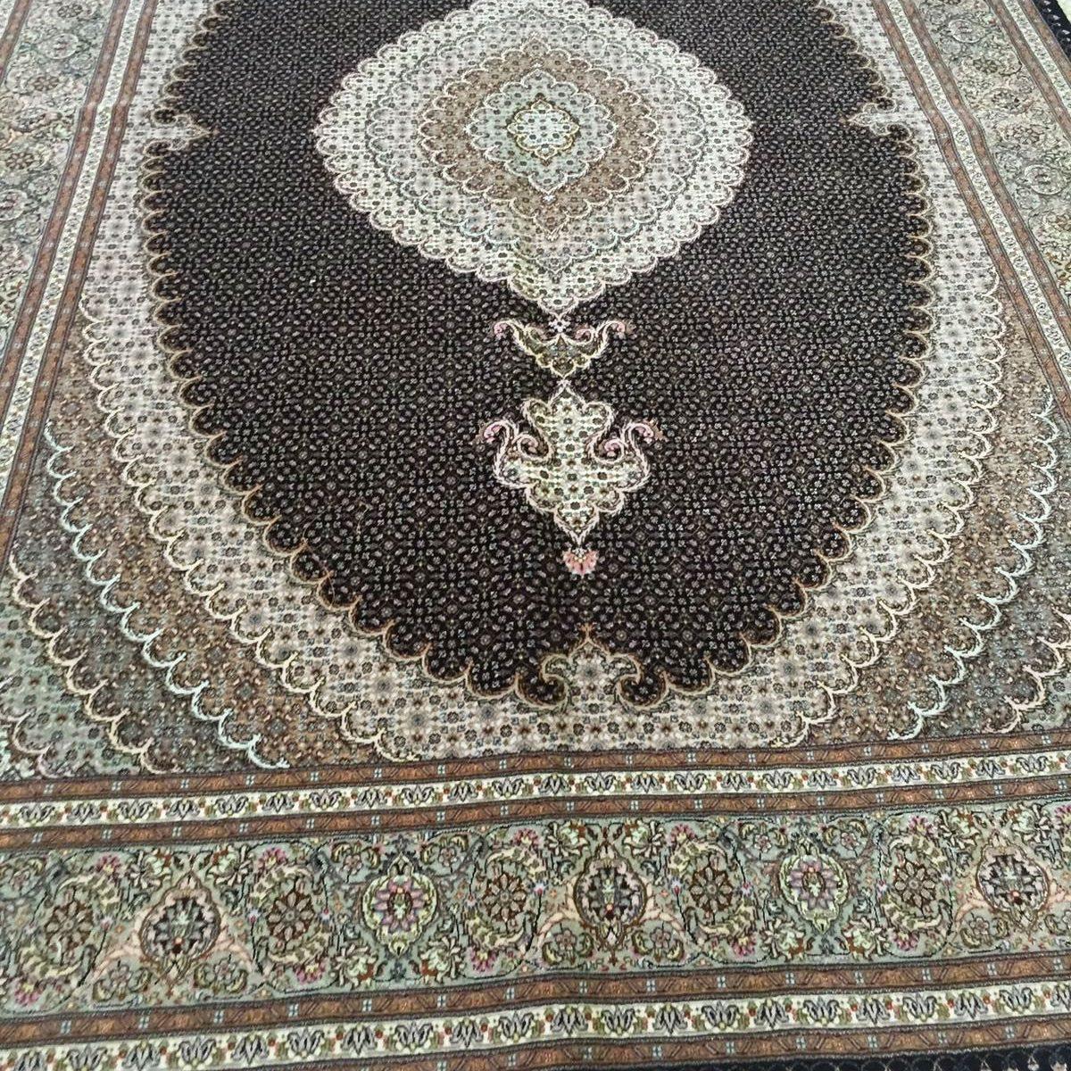 persian tabriz rug10 x 6 5 ft 306 x 199 cm rugs place. Black Bedroom Furniture Sets. Home Design Ideas