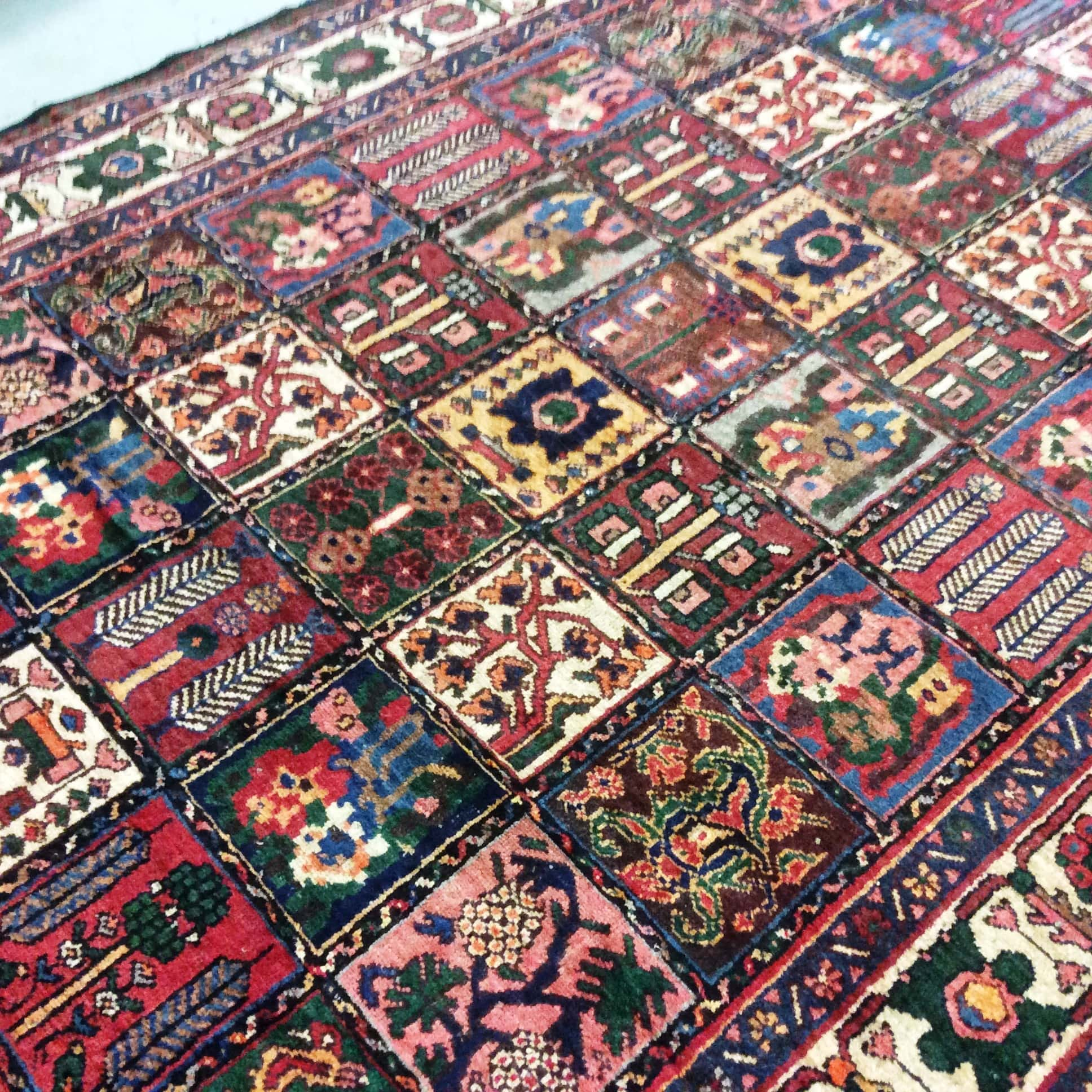 Persian Vintage Rug, Handmade Rugs, Wool Rugs, Richmond