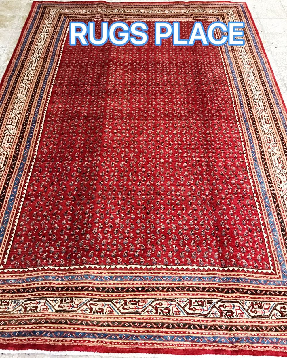 mahal persian rug11 5 x 7 7 ft 348 x 231 cm rugs place. Black Bedroom Furniture Sets. Home Design Ideas